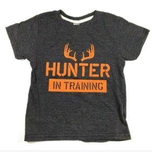 Hunter In Training Gray Shirt Toddler Size 2T
